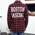 2016 Kanye west Men HBA Hip hop Long sleeved Shirt hood by air boston Red green
