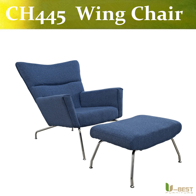 Popular hotel lounge chair buy cheap hotel lounge chair lots from china hotel lounge chair - Wegner wing chair replica ...