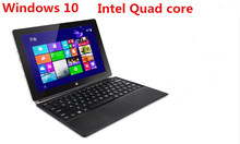 10inch touch screen Windows 10 quad core 4 threads netbook laptop PC  Z8300d 2GB 64GB SSD dual cameras WIFI  mini notebook(China (Mainland))