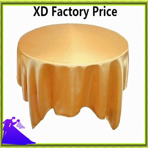 Colorful wedding satin table overlay standard for sale free shipping(China (Mainland))