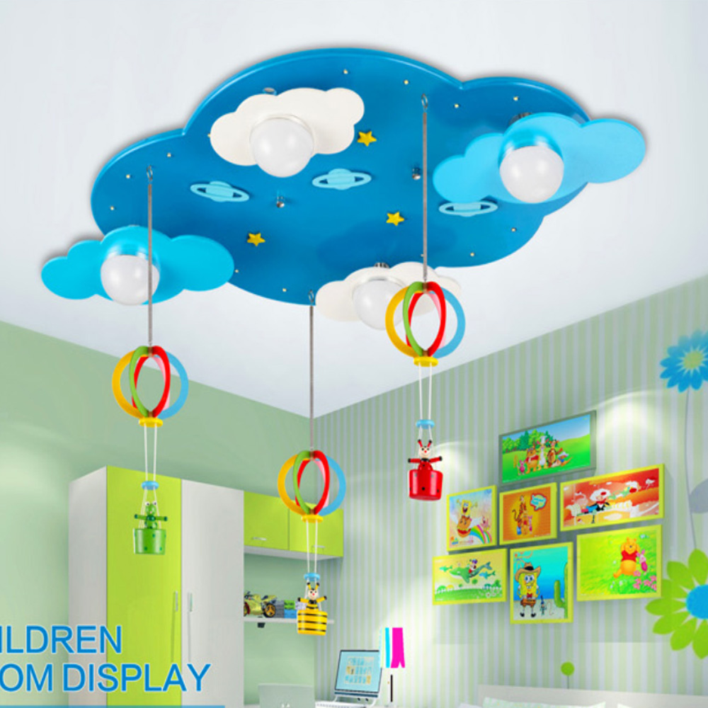 Kids bedroom ceiling lights - Online Get Cheap Ceiling Lights Cloud Aliexpresscom Alibaba Group