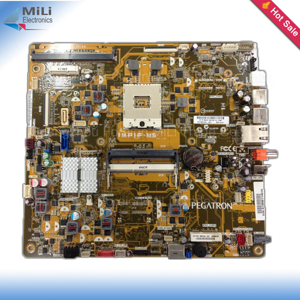 For HP TOUCHSMART 600-1150 E66 All-in-one PC Original Used Desktop Motherboard 585104-001 IMPIP-M5 on sale<br><br>Aliexpress