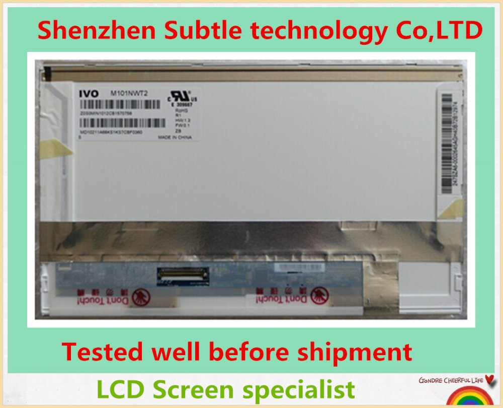 "100%Working Original 10.1 inch""LCD Screen M101NWT2 Asus Eee PC 1001PXD Netbook WSVGA LED Display Tested well shipment"""