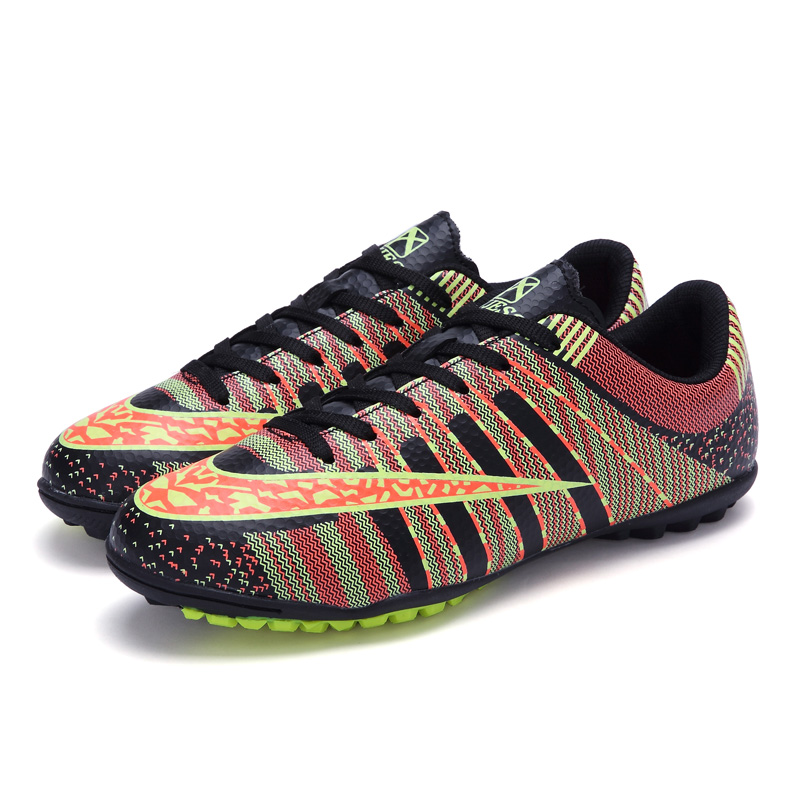 Men Soccer Shoes Broken Nails TF Indoor Football Boots Manufacturers Cheap Superfly Super-light Soccer Cleats(China (Mainland))