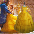 Ainiel Cosplay 2017 New Movie Beauty and the Beast Costume Princess Belle Cosplay Dress CS380319