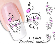 XF1469 2015 New brand 3D nail tools art nails beauty nail sticker stickers on nails unhas decorations manicure stickers for unha