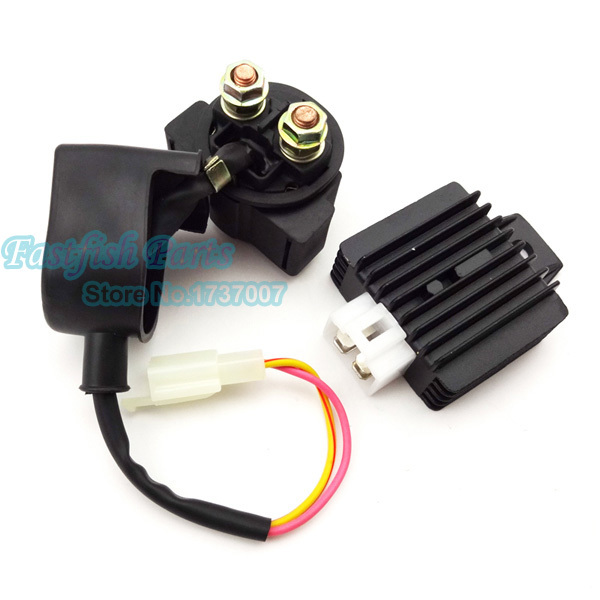 Regulator Rectifier Solenoid Relay For Chinese GY6 50cc 90cc 125cc 150cc Moped Scooter Motorcycle ATV(China (Mainland))