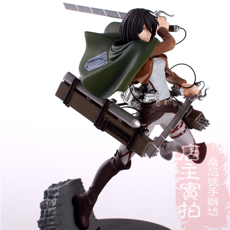 HOT NEW ATTACK ON TITAN model   Mikasa Ackerman   Western Toys  free shopping<br><br>Aliexpress