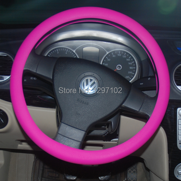 glow in the dark fashion cheap price silicone car steering wheel cover in steering covers from. Black Bedroom Furniture Sets. Home Design Ideas