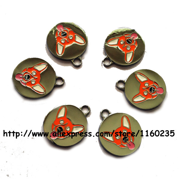 25mm funny dog design dog tags,metal pet tags dog id tags for cats dogs,free shipping(China (Mainland))