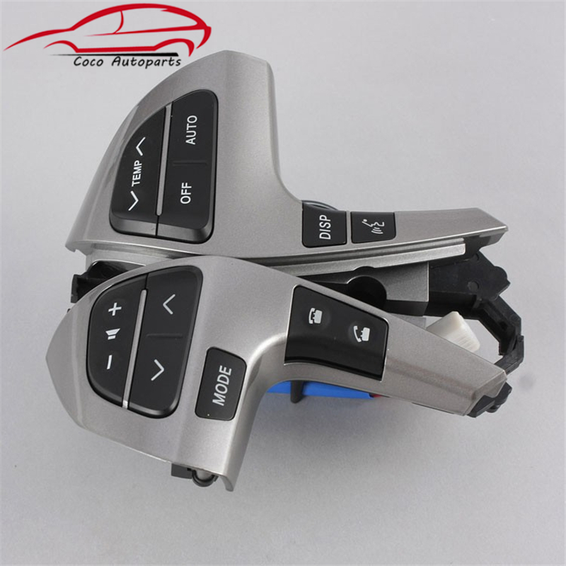 Steering Wheel Combination Control Switch OEM 84250 0E220 For Toyota Hilux Highlander Corolla Innova