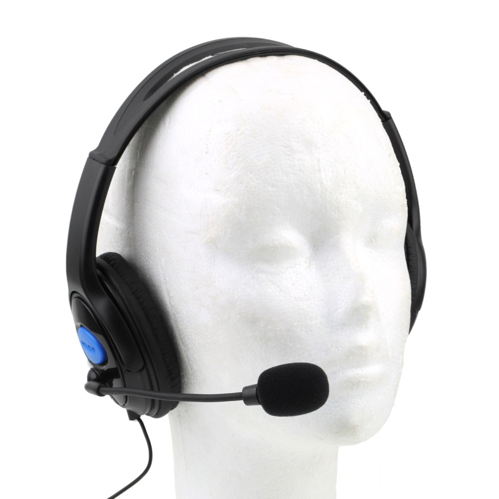 image for 1pcs Wired Gaming Headset Headphones With Microphone For Sony PS4 For