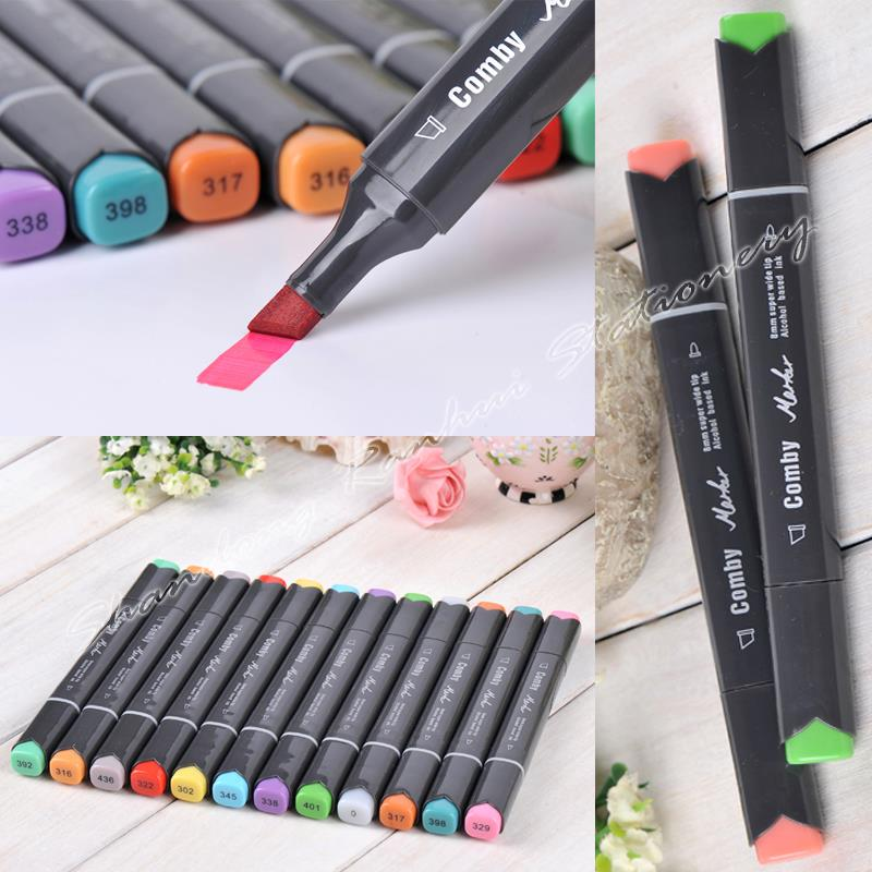 36/48/60/72 P Colors Interior Design Marker Pen Comby800 commonly used Sketch marker copic markers(China (Mainland))