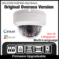 HIKVISION DS 2CD2142FWD IS 2 8mm Original English version IP camera 4MP IPC Security Camera POE