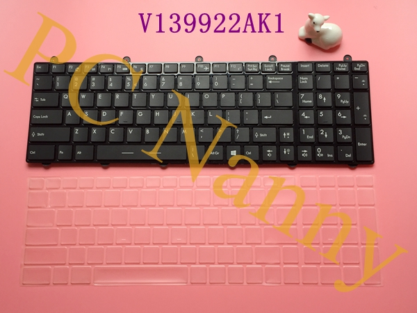 Genuine Laptop Keyboard For MSI Steelseries GT60 GT70 GX60 GX70 GE60 GE70 Series Full Colorful backlit US V139922AK1(China (Mainland))
