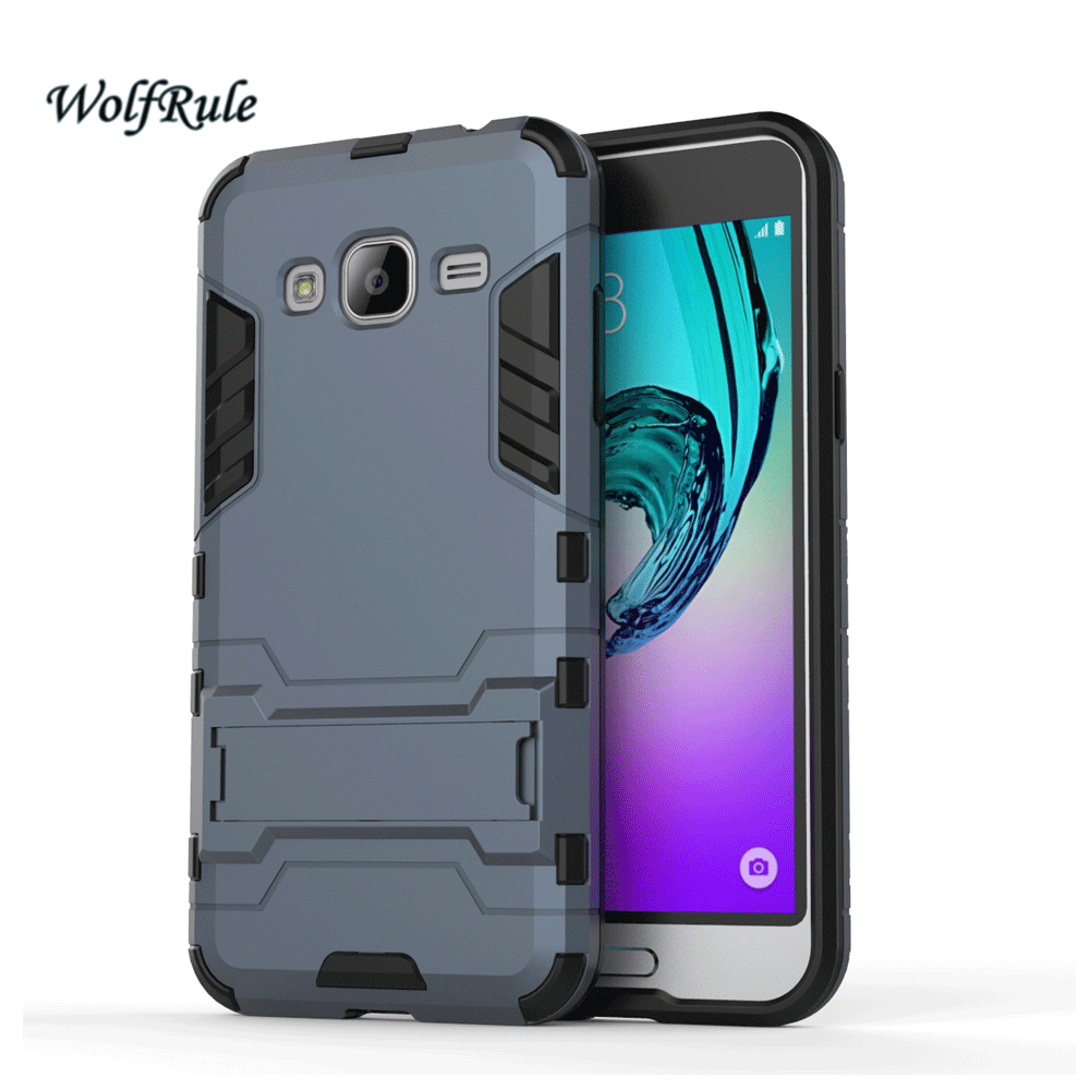 Case For Samsung J3 Cover Soft Silicone & Flip Leather Case For Samsung Galaxy J3 J300f J320 Fundas Card Slot Phone Shell