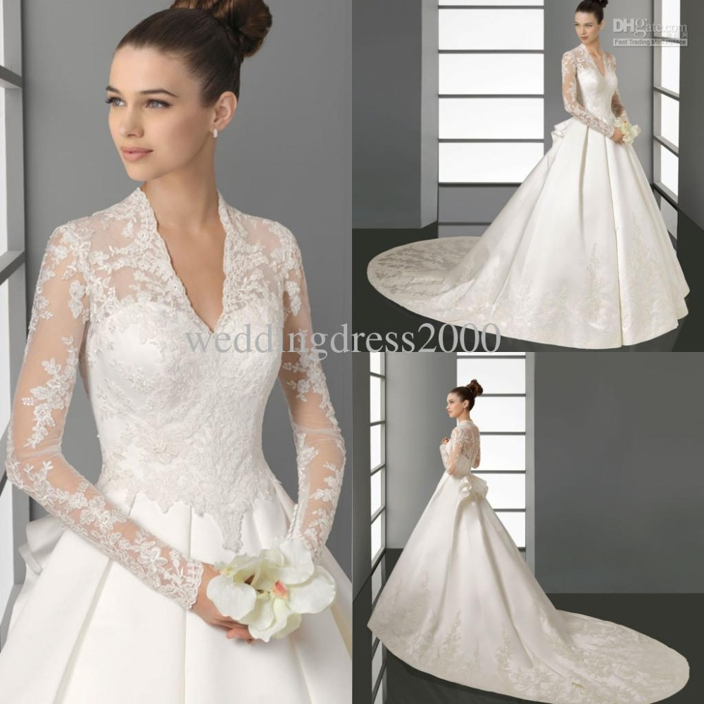 Wedding Gowns W Sleeves 84