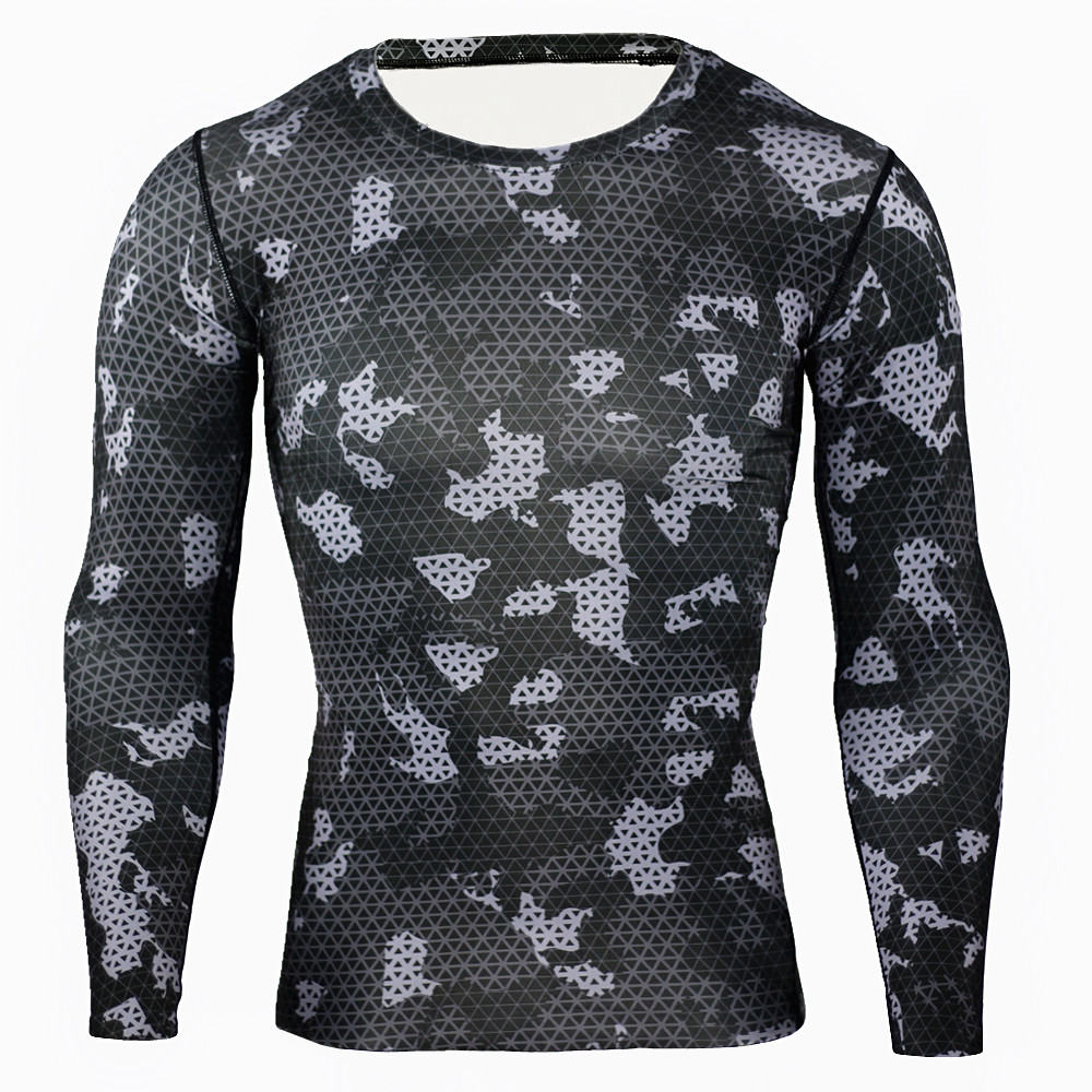 Shirt design for man 2017 - 2017 New Arrival Camouflage Military Us Army Tactical Tight T Shirt Men Brand Fitness Camo Compression