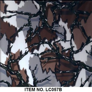Item No. LC057B Water Transfer Printing Film of Camouflage Pattern