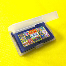 New Plastic Clear Game Cartridge Cases Box Protector For Nintendo Game Boy GBA Wholesale(China (Mainland))