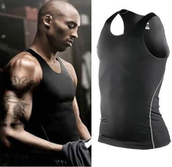 Clearance Pro quick-dry Tight Men sport Tank Tops Athletics basketball football running Fitness T shirt men's sleeveless shirts(China (Mainland))