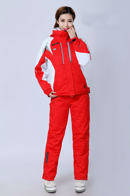 2XL Factory direct sale! 2014 new spider ski suit woman's waterproof outdoor warm clothing - Anny's Lovely Store store