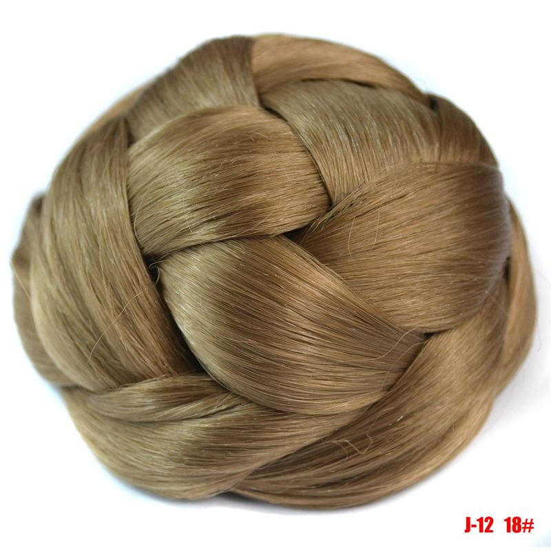 Chignon J 12 Ynthetic Hair Chignons Buns Hairpiece Natural