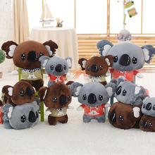 Buy Cartoon Koala Plush Toys Kawaii Koala Bear Stuffed Doll Soft Adventure Koala Toy Birthday Gift Children 35cm/45cm for $13.48 in AliExpress store