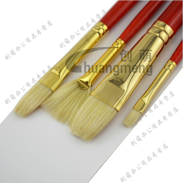 Winsor&amp;Newton bristle Paintbrushes oil paint brushes  painting supplies 4pcs/set<br><br>Aliexpress
