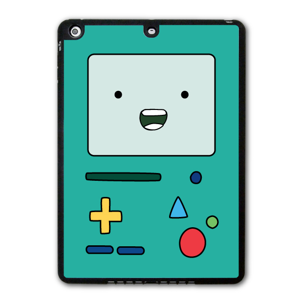 iPad 5 Air/iPad Mini Adventure Time Beemo Lovely Funny Protective Black TPU Soft Cover Case P80 - Shenzhen YHOEM Trading Co.,Ltd store