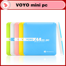 Newest Windows VOYO mini PC Intel z3735f Quad core 2GB RAM 64GB ROM,windows8.1 mini pc for smart office(China (Mainland))