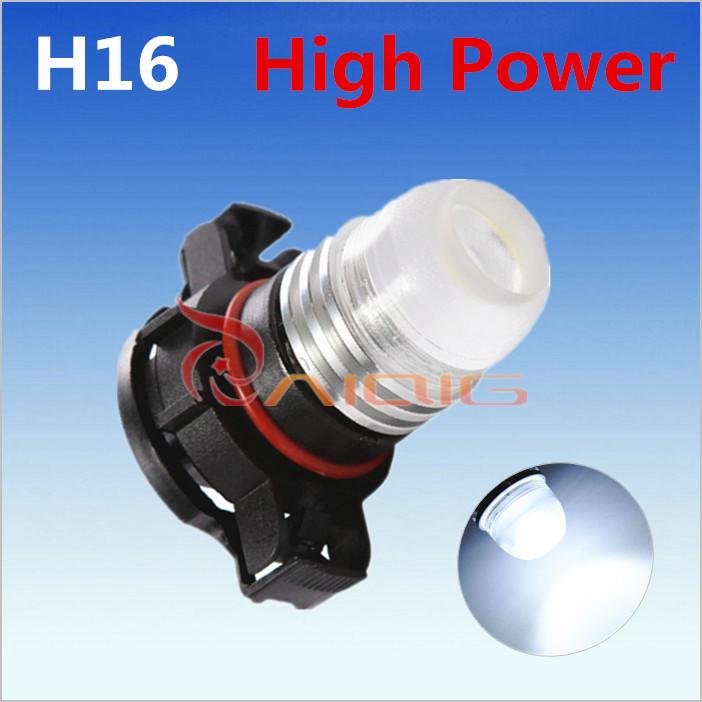 H16 White 3W led High Power 5202 5201 PSX24W DRL Fog Car LED Bulbs Lamp Auto Light Source parking 12V 6000K - Guang Zhou Ming Zhi Technology co., LTD store