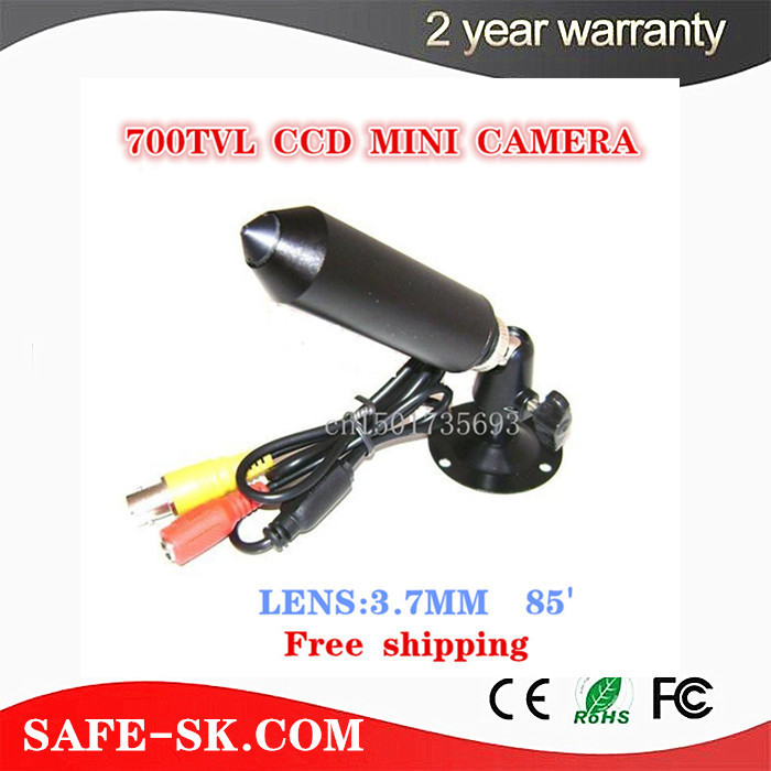 "Free shipping 1/3"" SONY SUPER HAD CCD 700TVL Mini bullet Camera Security Mini CCTV Camera Hidden Video Surveillance Cone(China (Mainland))"