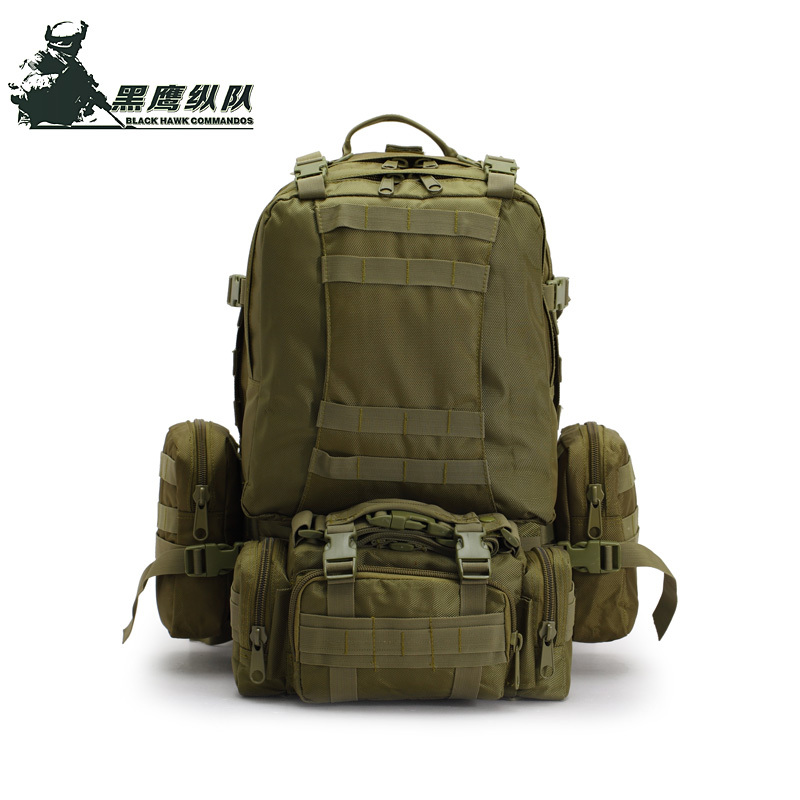 Waterproof Nylon Laptop Backpack 36-50l 3P Tactical Military Molle Professional Hunting Trekking Bag combilation - Easy Outdoors store