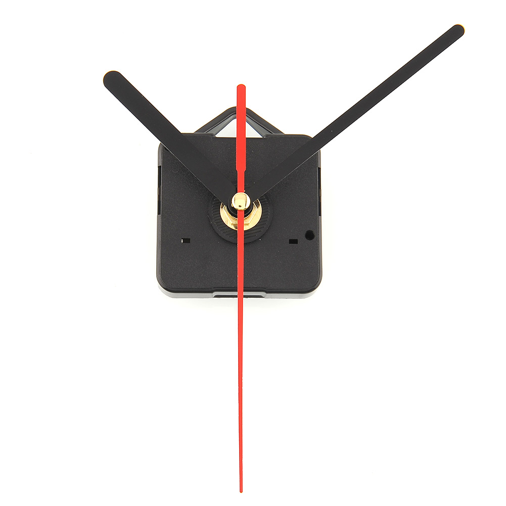 Hot New Quartz Practical Clock Movement Mechanism Parts DIY Useful Tools with Black(China (Mainland))