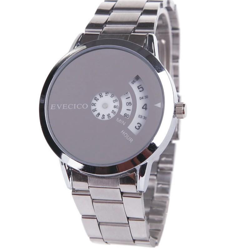 Evecico мужские часы кирпич мужчины студент часы моды персонализированные поворотной плиты любителей моды таблицы