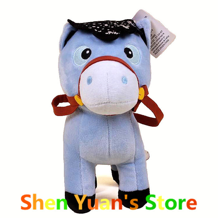 Sheriff Callie's Wild West Horse Stuffed Dolls Toy 20cm Horse Plush Toys Christmas/Birthday Gifts For Kids Girls Boys(China (Mainland))
