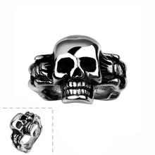 R038-8 Stylish wholesale various styles 316L stainless steel punk ringworldwise hot sale(China (Mainland))
