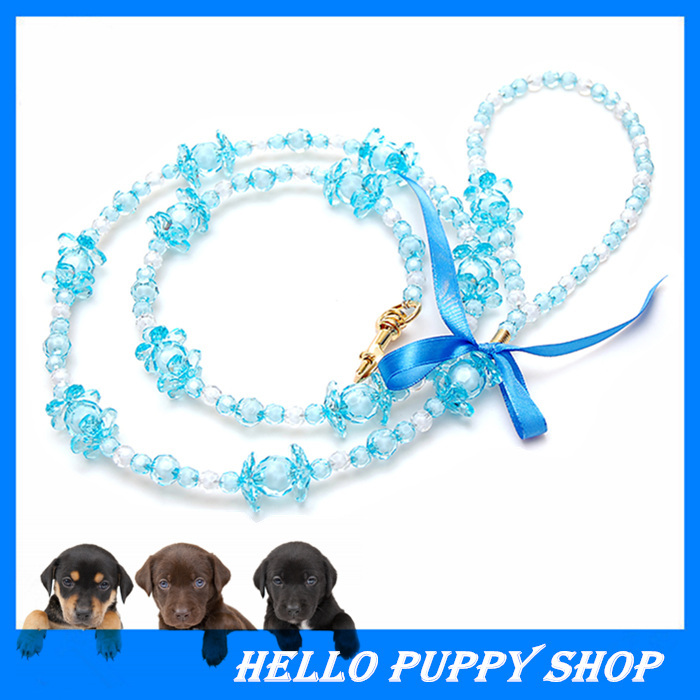 New Arrivals White Rhinestone Dog Collar Pearl with Footprints Rhinestone Charms Dog Necklace Pet Jewelry Dog Collar(China (Mainland))