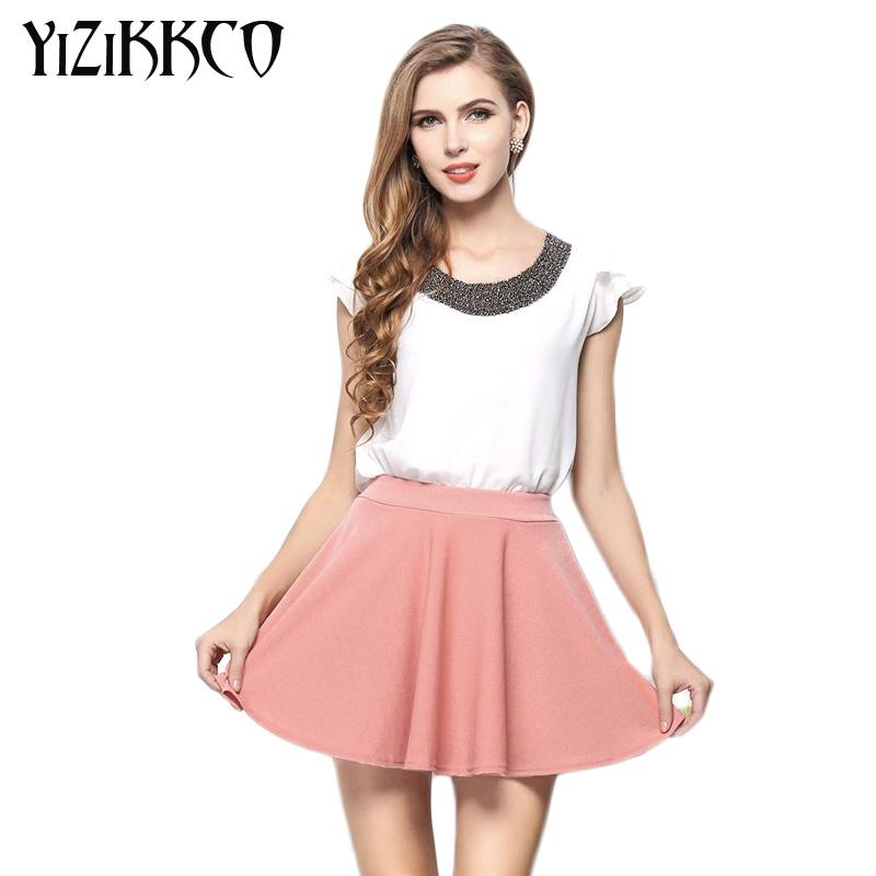 TS009 t shirt women 2016 New Brand Chiffon Short Women Clothing Solid Butterfly Sleeve Casual Shirts Women T shirt Tops S-2XL(China (Mainland))