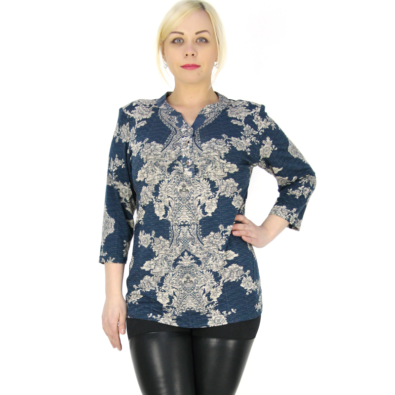 2016 spring summer casual woman 39 s tops cotton and linen for 3 4 sleeve t shirts plus size