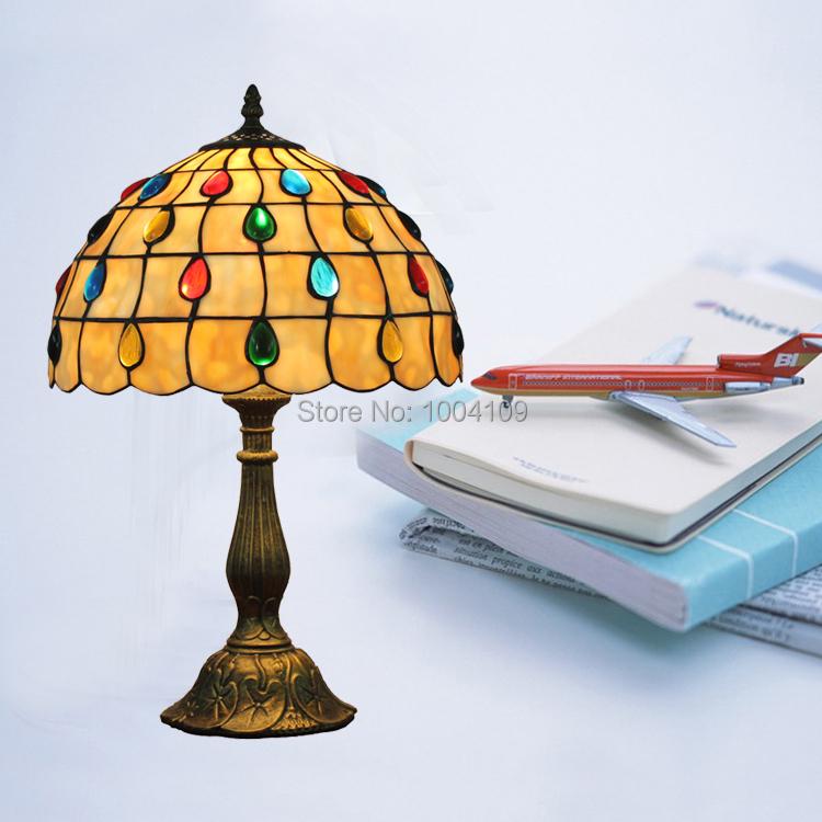 Lamp 1960 Novelty Lighting : raindrop tiffany table lamp beaded stained glass desk lamp bedroom lamp novelty desk lamp gifts ...