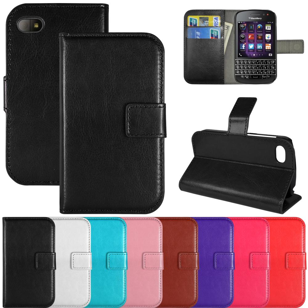 Book Flip PU Leather Wallet Case Cover Stand Card Pouch phone Cases For Blackberry Q10(China (Mainland))