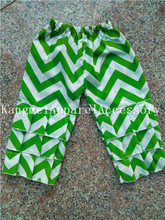 48pcs/lot Chevron Ruffle Baby Leggings for Girls