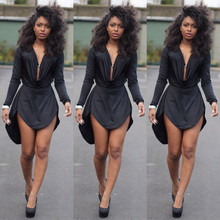 women summer dress 2015 style black womens sexy bodycon dresses club night club dress long sleeve women casual dress ZF591(China (Mainland))
