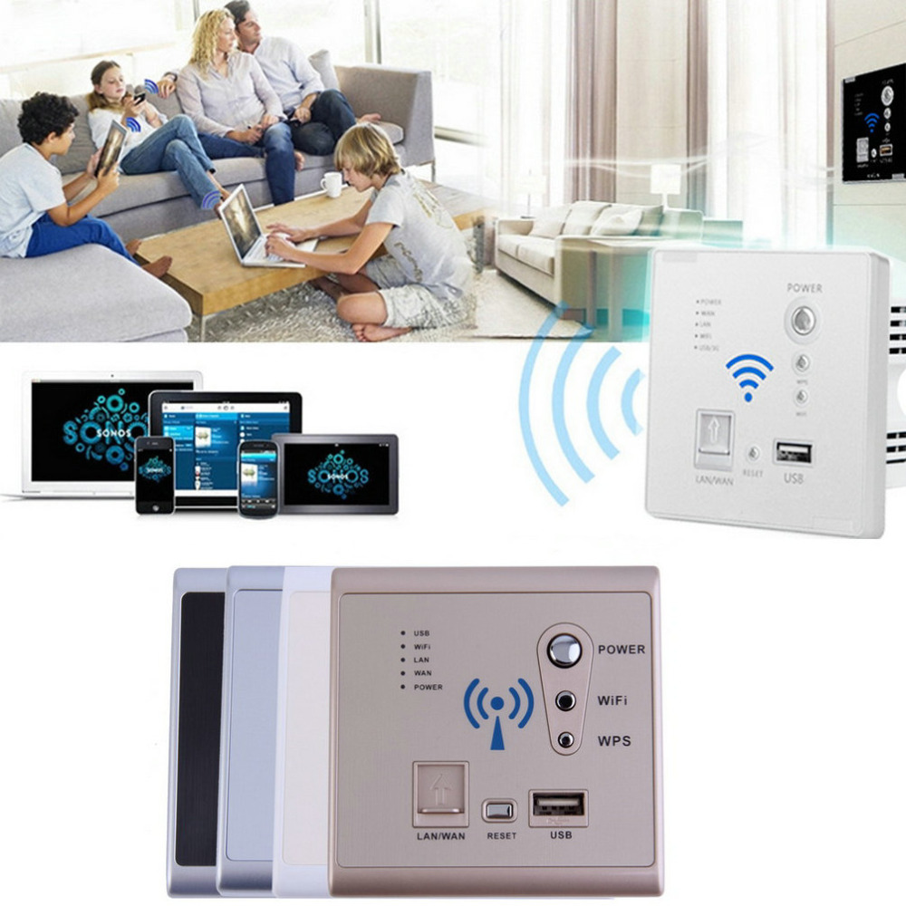 High Quality Wall Embedded Charging Socket 3G Wifi Wireless Router USB Charger Panel Wholesale<br><br>Aliexpress