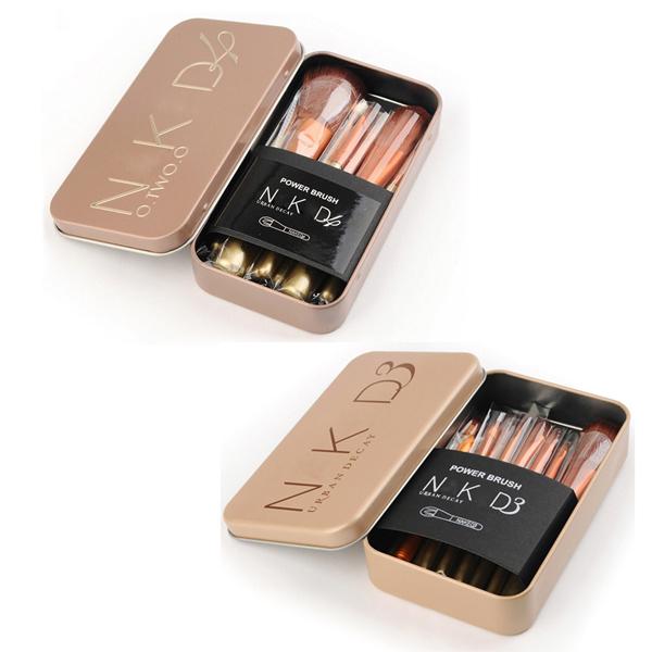 Professional nake 3 nake 4 mc makeup brushes tools set NK3 NK4 hand to Make up Brush kit for eye shadow palette Cosmetic Brushes(China (Mainland))
