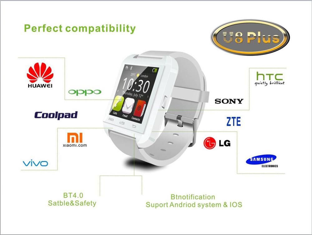 Uwatch U8plus smart android watch phone11