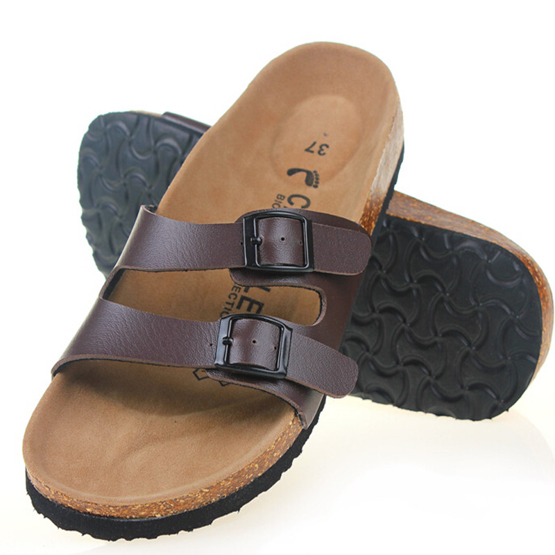 new 2016 summer sandals cork shoes slippers casual