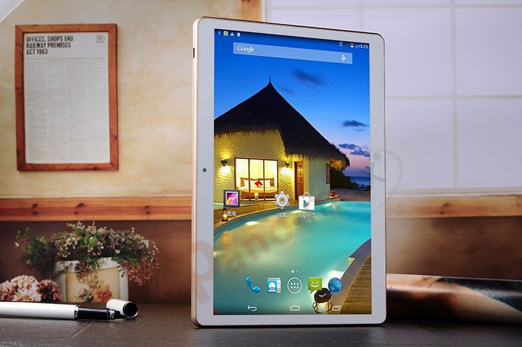 9 6 inch Quadcore IPS Phablet with MTK 6582M 1280 800 pixels phone tablet support 3G